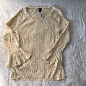 J Crew medium cotton top